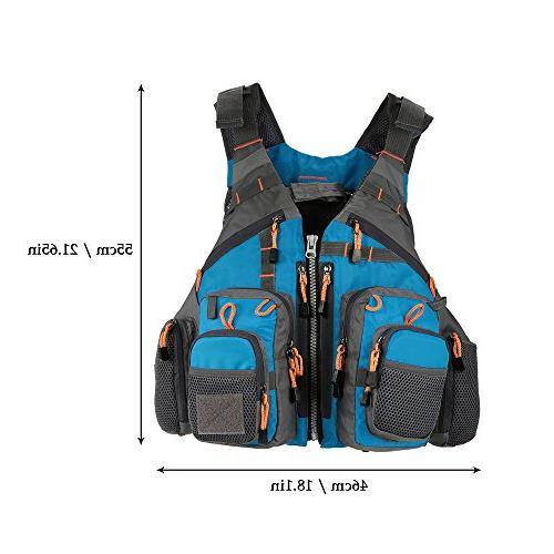 Lixada Fly Safety Life Polyester Design Vest Sailing Boating Kayak