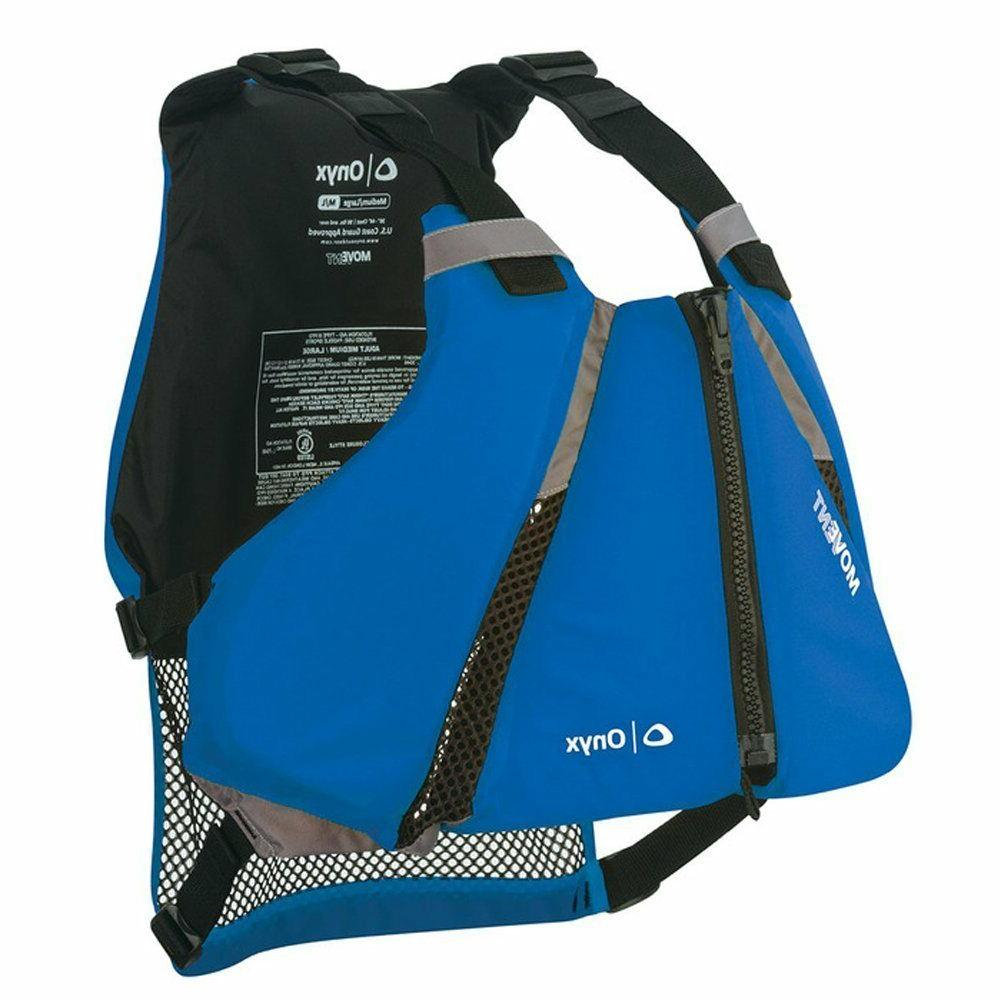 Onyx MoveVent Curve Paddle Sail Kayak Life Vest Sail Kayak J