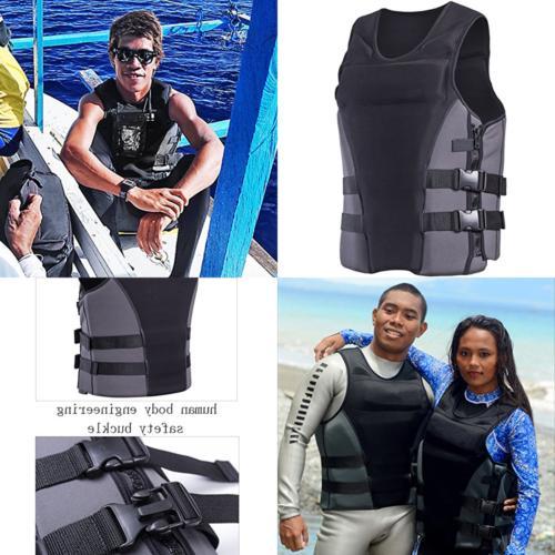 neoprene life jacket vest waterski wetsuit