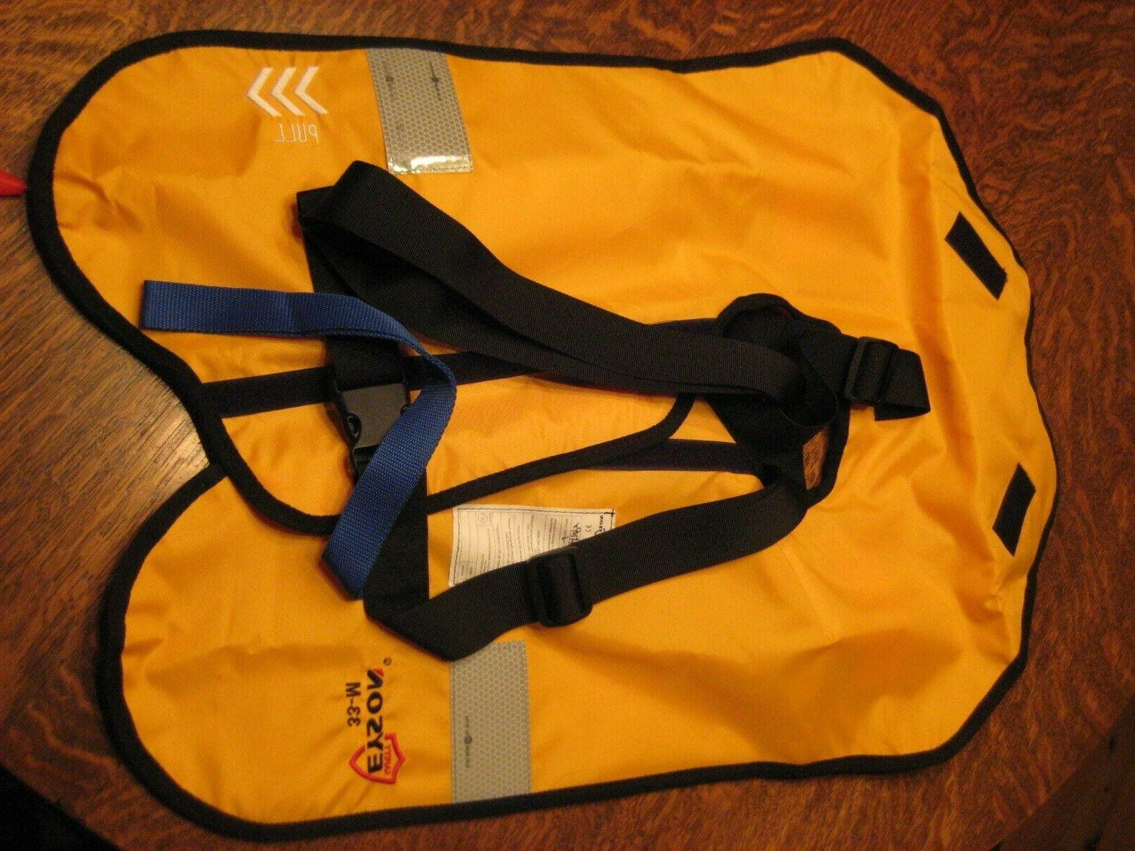 New Manual Inflatable Life PFD