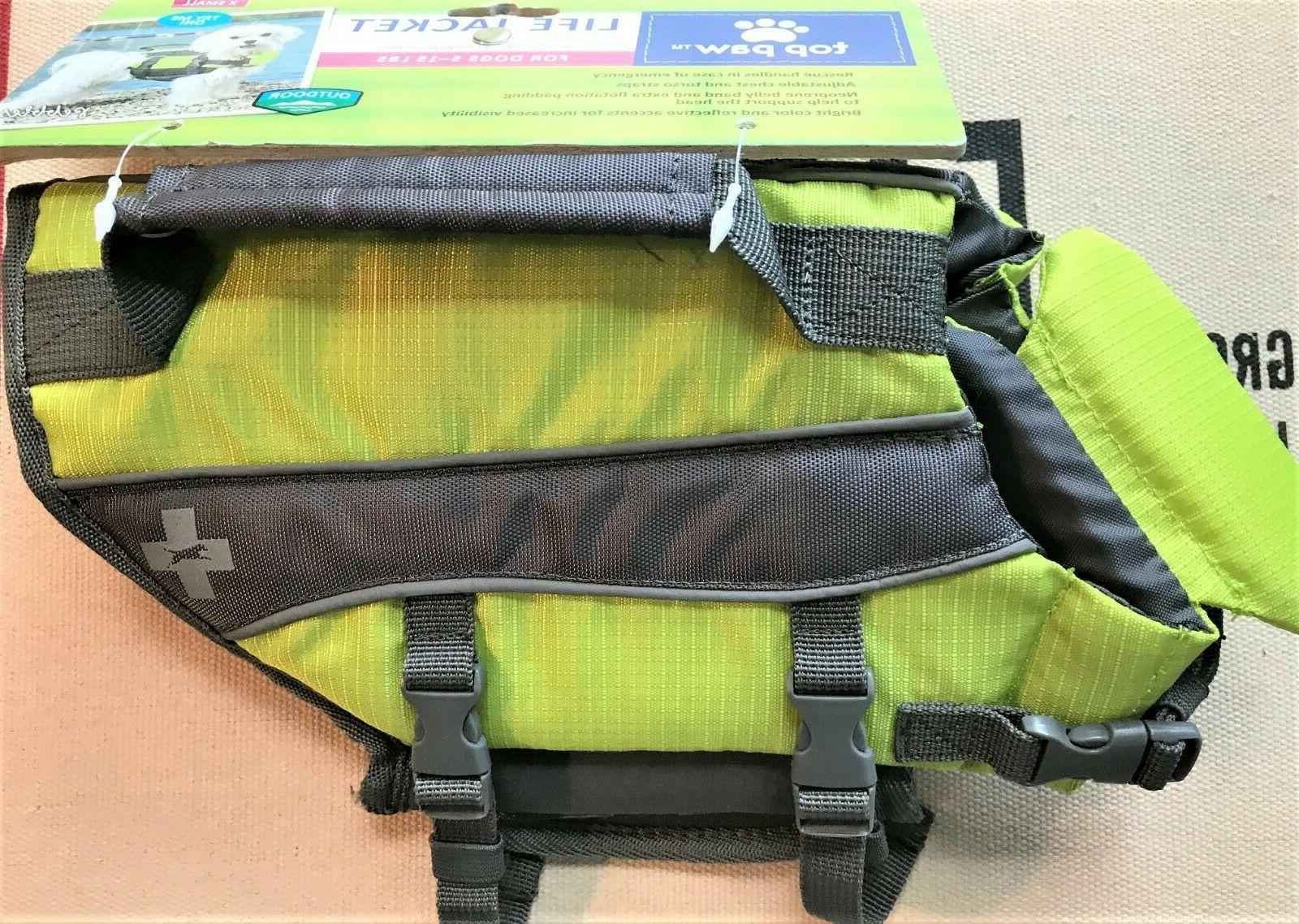 NEW TOP PAW Life Jacket Vest - ALL & COLORS!