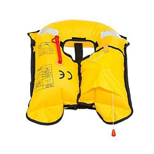Adult Inflatable Life Jacket Automatic PFD