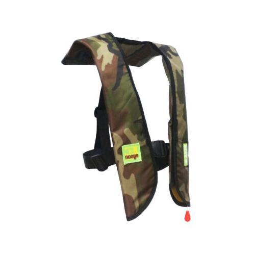 Black Friday Premium Manual Life Vest Auto Inflatable PFD