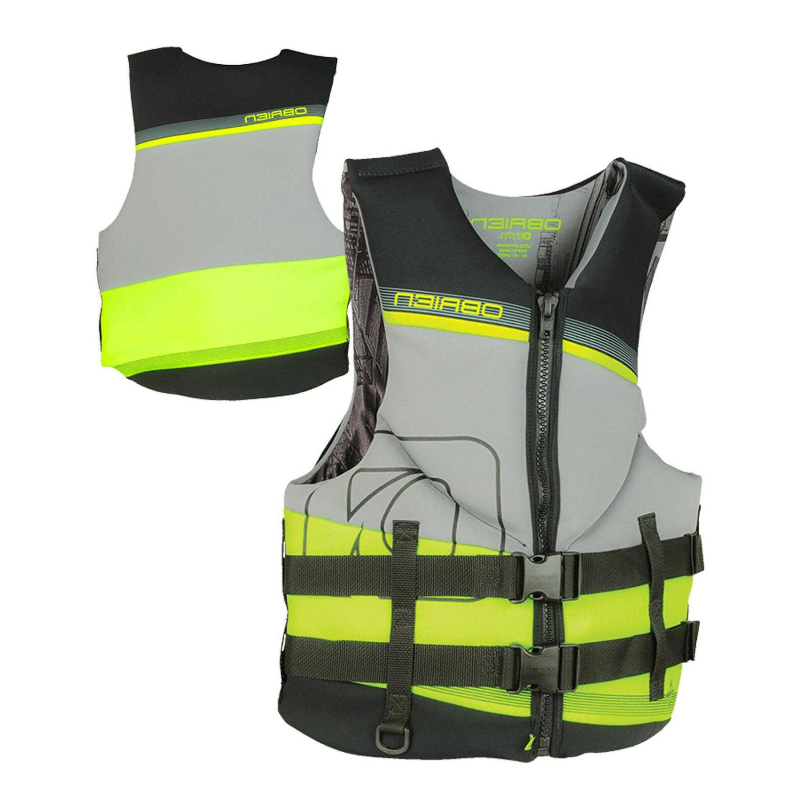 new o brien mens tech life jacket