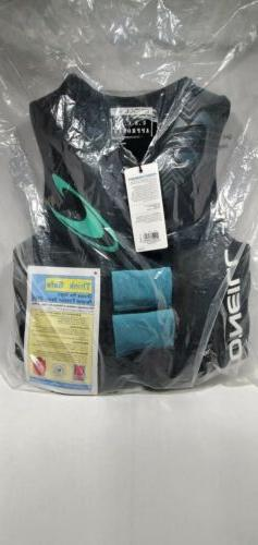 NEW O'Neill  Women's Neoprene CGA Life Jacket Vest ~ Black