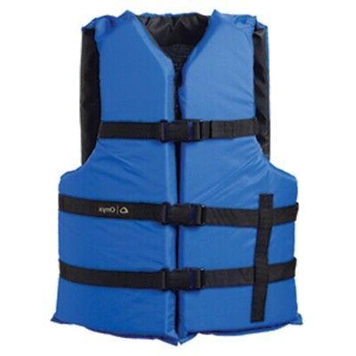 new onyx nylon general purpose life jacket