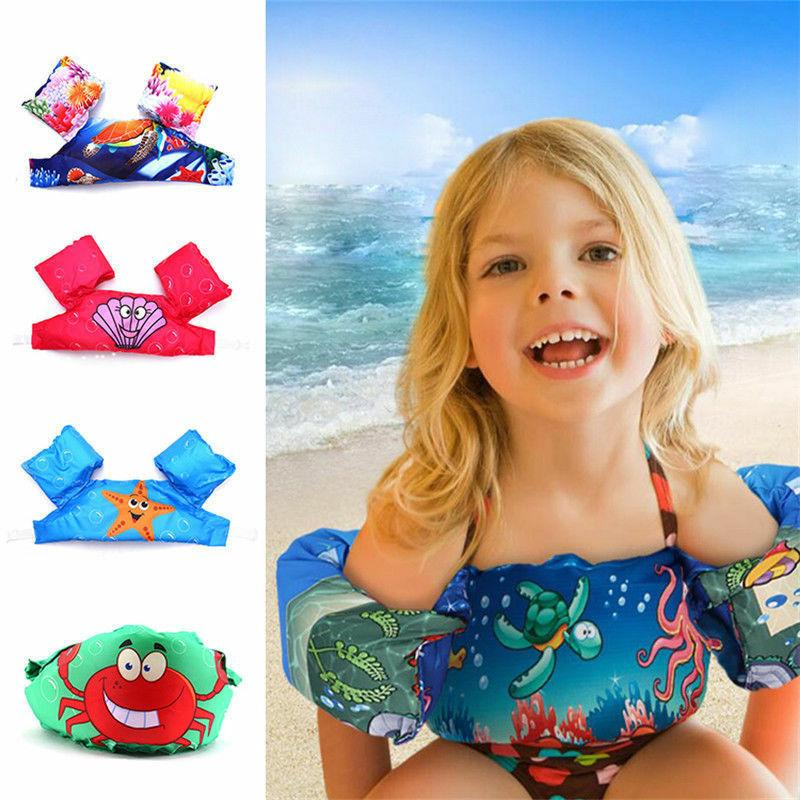 Kids Puddle Jumper Swimming Deluxe Cartoon Life Jacket safet