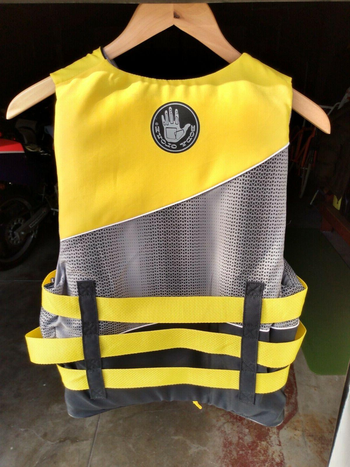 Body Glove Nylon Jacket Vest US Guard Excellent