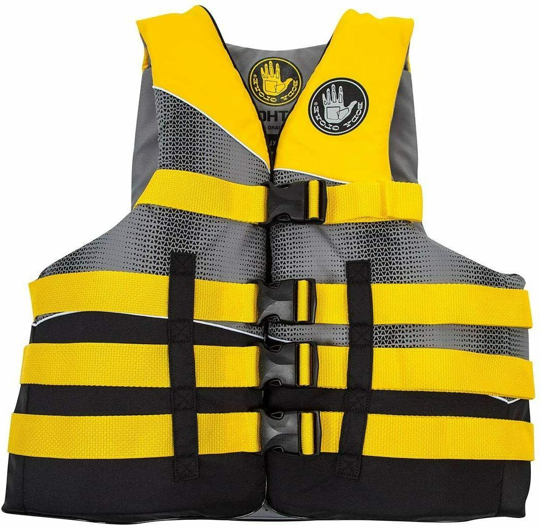 nylon life jacket vest us coast guard
