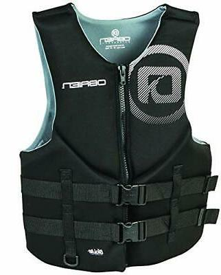 O'Brien Men's Traditional Neoprene Life Jacket Black 3X-Larg