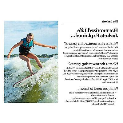 O'Brien Watersports Traditional Lightweight Safety Cyan,