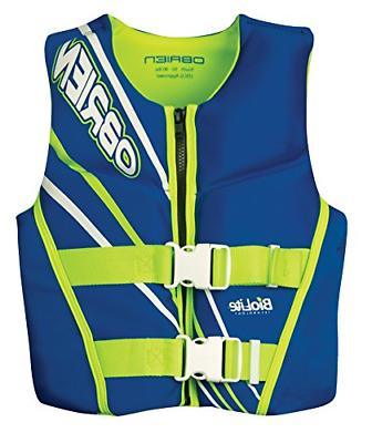 o brien youth neo life vest blue