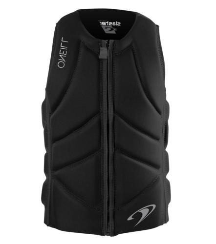 O'Neill Wetsuits  Men's Slasher Comp Life Vest,Black,X-Large