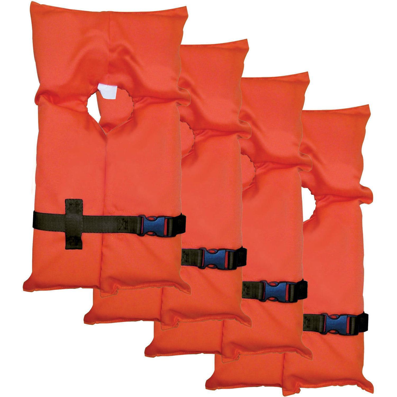 Type Jacket Vest PFD Adult Universal Coast Approved