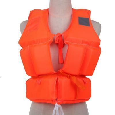 Outdoor Sport Adjustable Life Jacket Kayak Boating Foam Safe