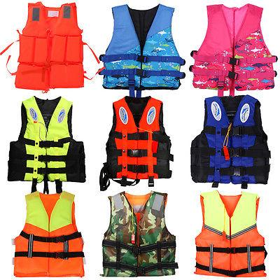polyester adult kid life jacket universal swimming