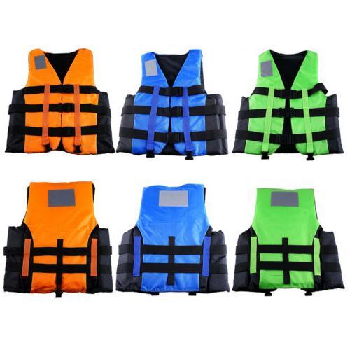 Polyester Swimming Ski Foam Vest + Size#