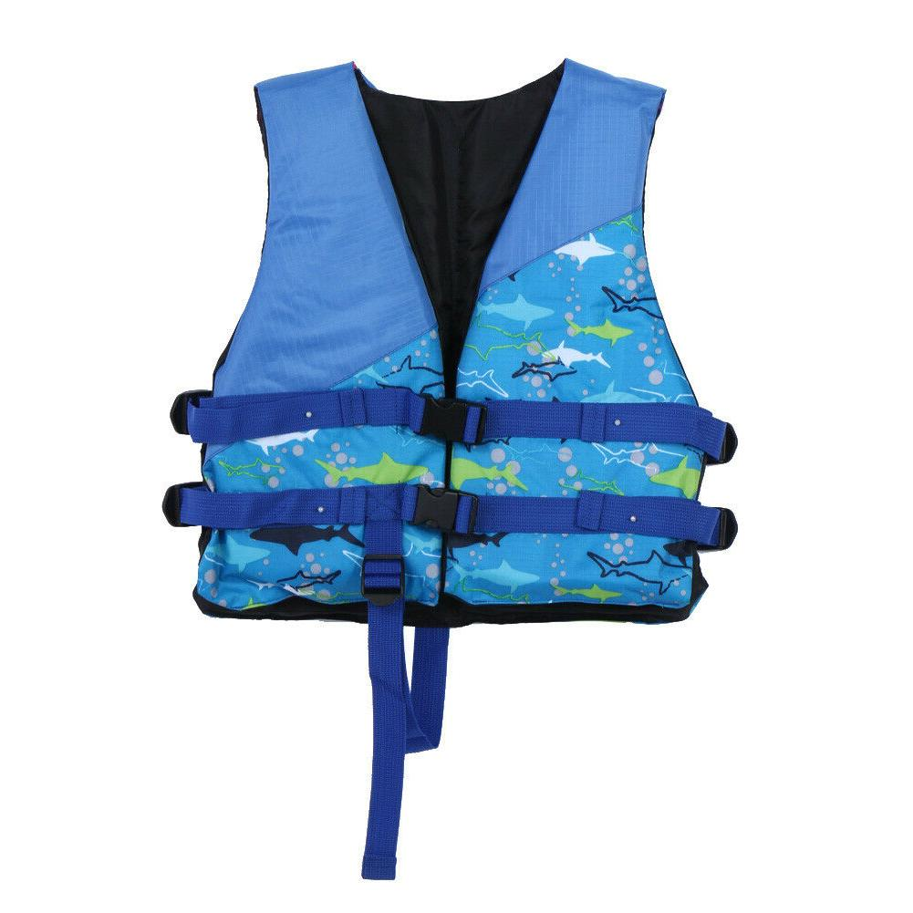 Polyester Child Universal Swimming Jackets Boating Ski