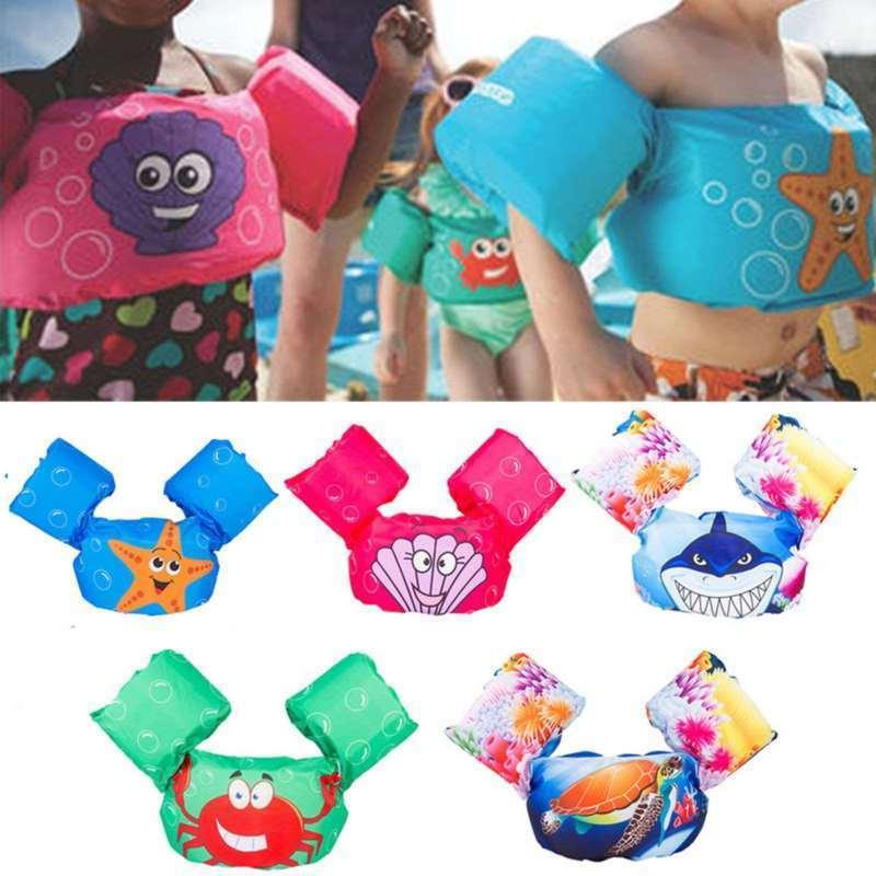 puddle jumper swimming deluxe cartoon life jacket