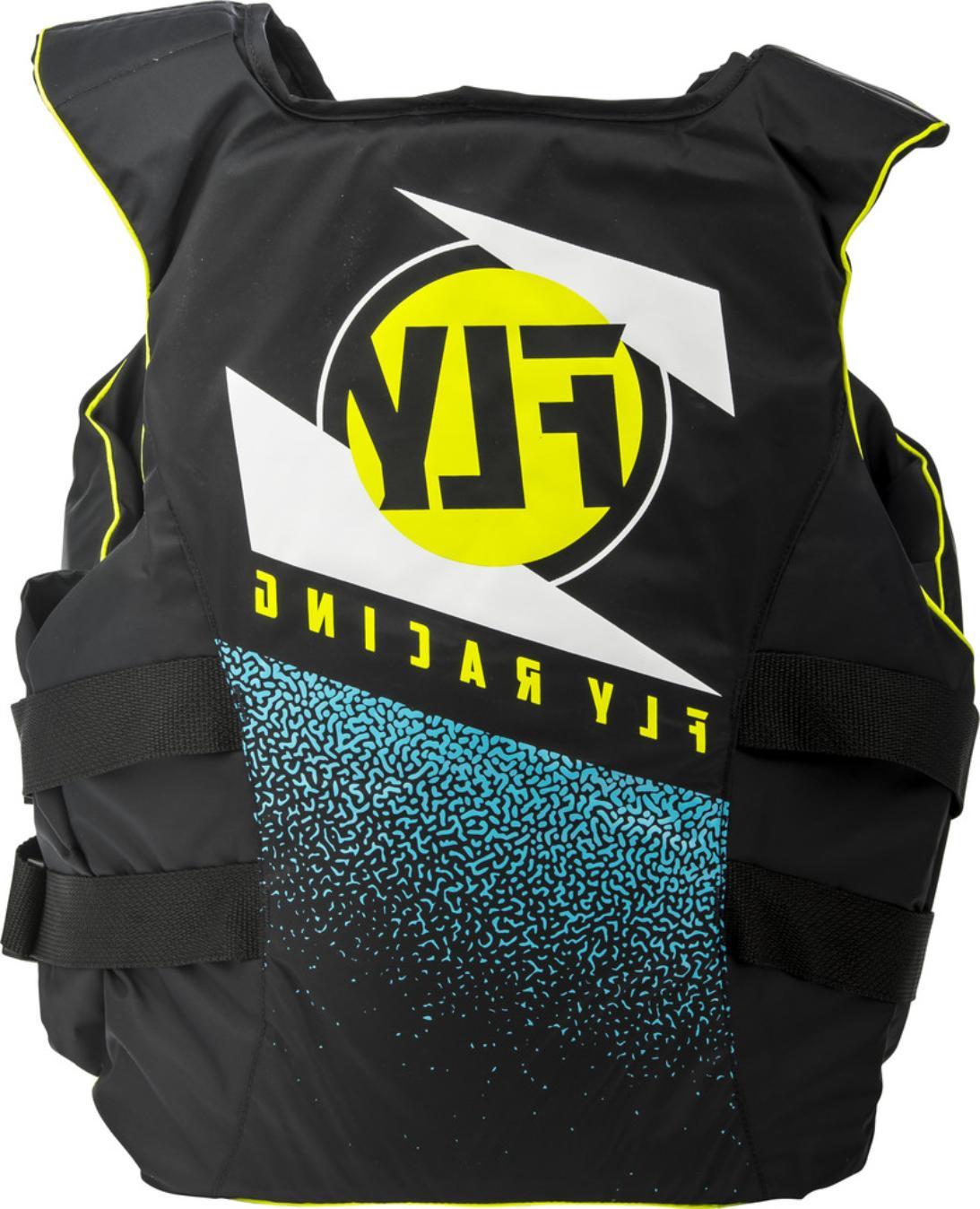 Fly Nylon Safety Jacket Black
