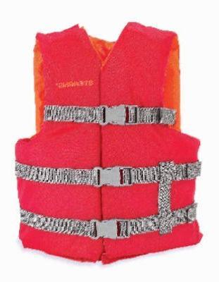 red boat vest