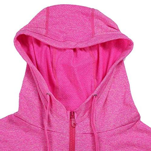 Selighting Running Full Zip Hoodie Jackets with