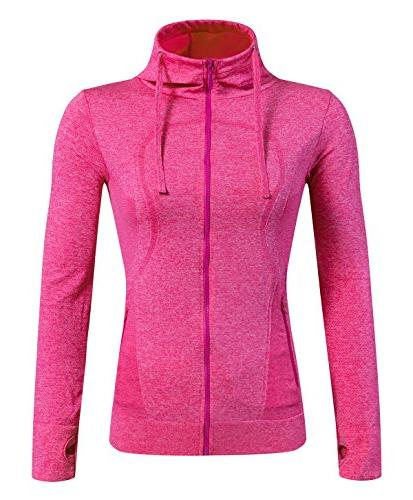 running sweatshirts zip hoodie yoga