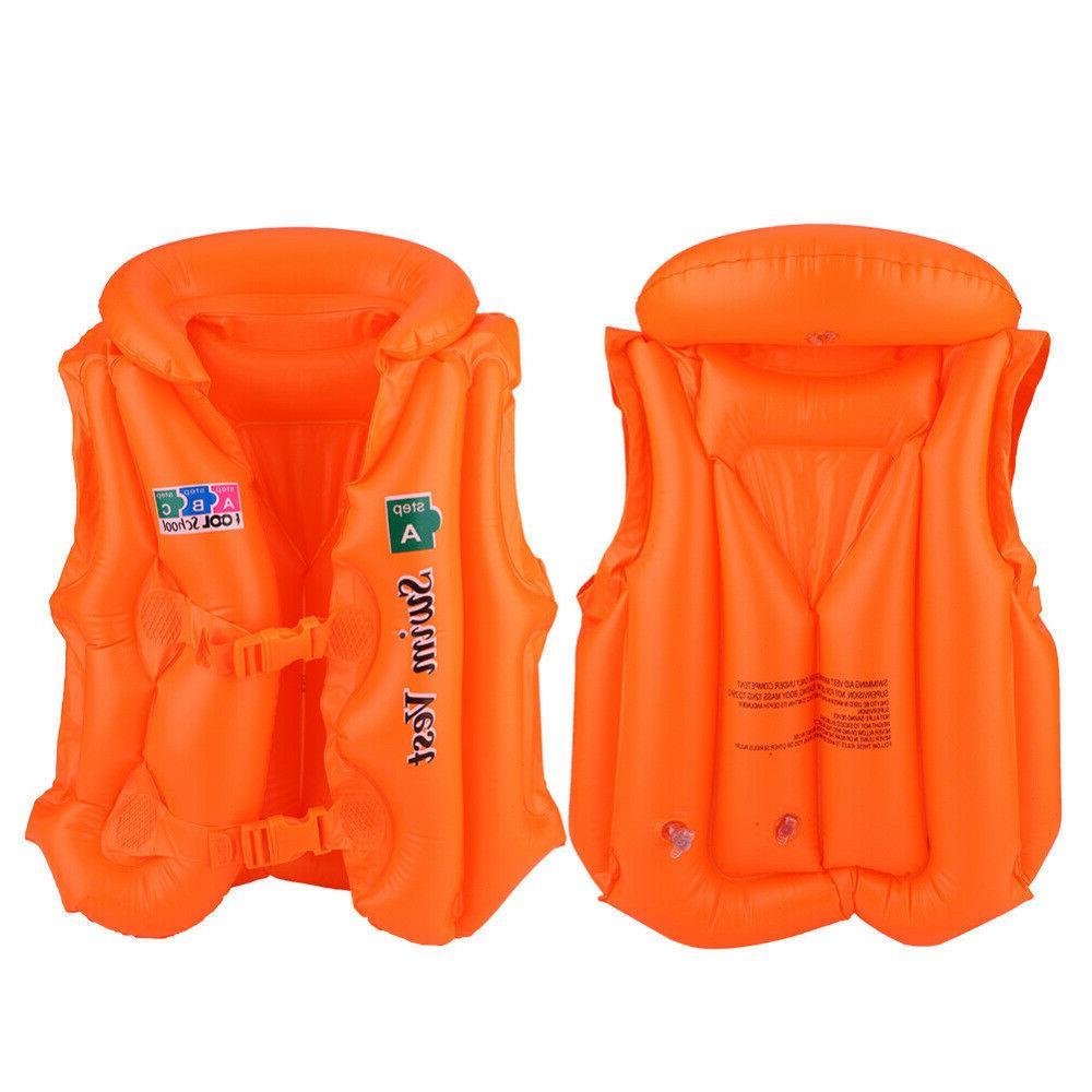 Safety Life Jacket Sports Swimming Children Kid Floating Swi