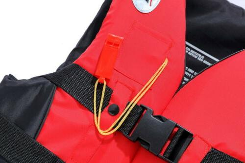 Safety Life Survival Vest Swimming Boating Drift 3XL