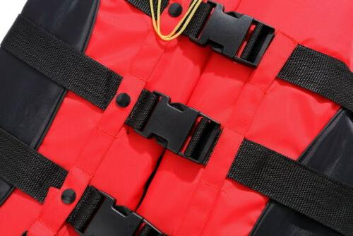 Safety Life Survival Vest Boating Drift Enclosed