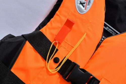 Safty Life Jacket Water Vest Fully Enclosed L XL 2XL