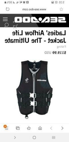 Seadoo Women's Airflow Life Jacket The Ultimate 285873  Larg
