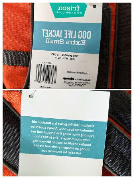 Size Frisco Life Jacket Neoprene Water NEW
