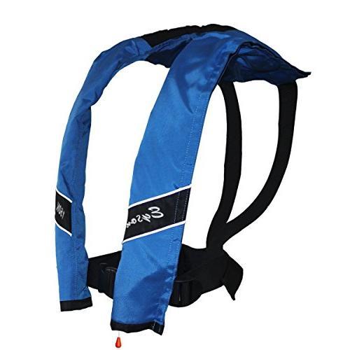 slim inflatable pfd life jacket