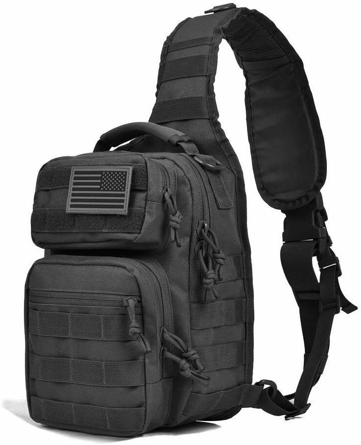 Tactical Sling Bag Military Backpack Pack Rover Small Should