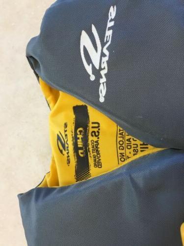 Vest Life Jacket 30-50lbs Gold