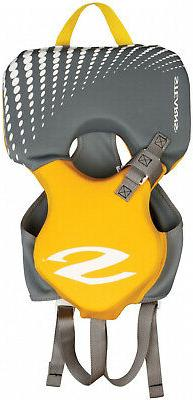 Coleman Stearns Infant's Hydroprene Life Jacket in Yellow/Gr