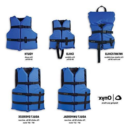 ONYX Adult Life Blue, Oversize