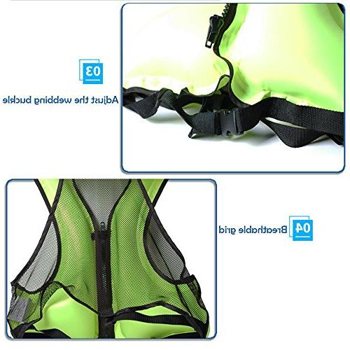 Adult Inflatable Buoyancy for Snorkeling, For Blue
