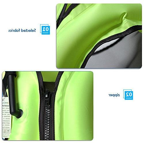 Leegoal TM Adult Inflatable Buoyancy Aid for Snorkeling, Suitable Blue