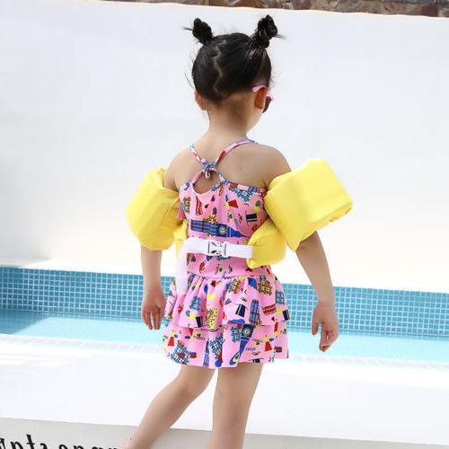 Toddler Life Swim Vest Arm Swimming Wear Float Safe