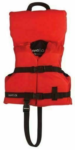Full Throttle Infant Nylon Water Sports Vest, Red