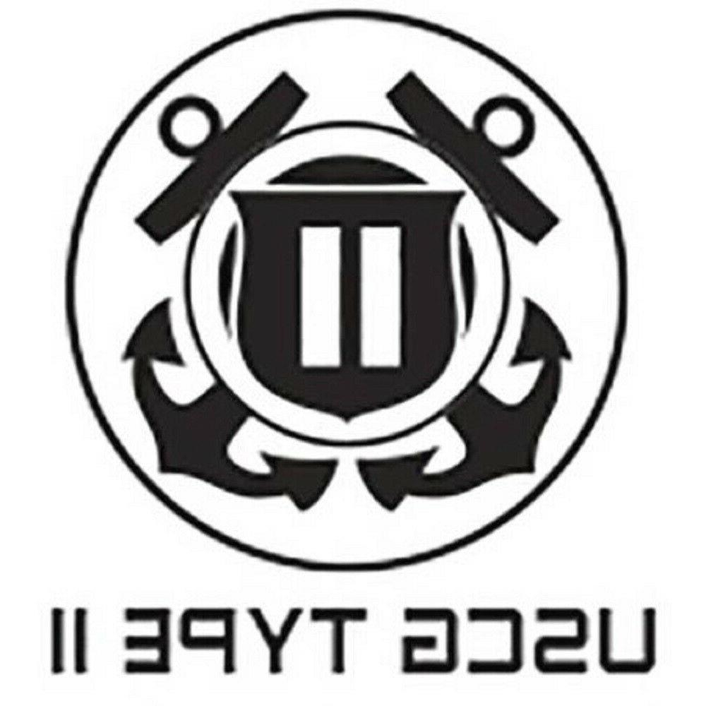 Type II Orange Jacket Adult - US Coast Approved