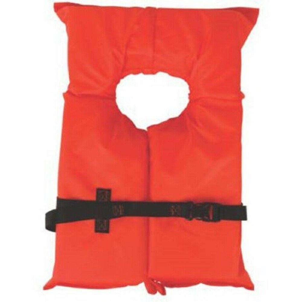 type ii orange life jacket vest pfd