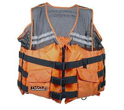 Flowt - Type III Commercial Comfort Mesh Life Vest Orange, L