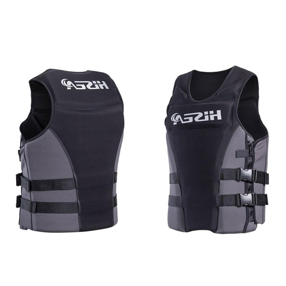 Unisex Life Jacket Professional Lightweight Water Sports