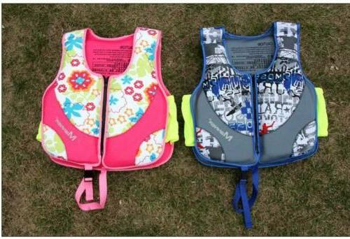 US Child Sports Swimming Floating Vest Buoyancy Jacket