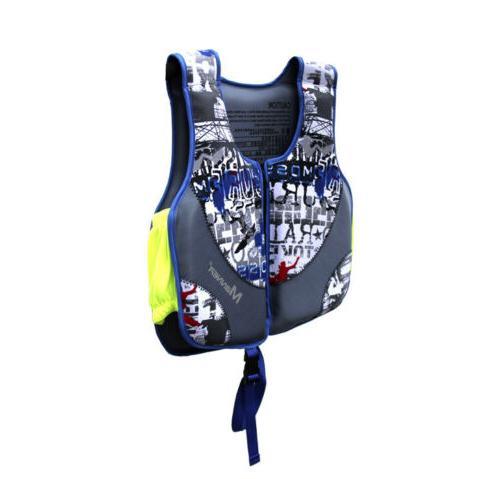 US Child Swimming Floating Swim Aid Vest Buoyancy Life Jacket