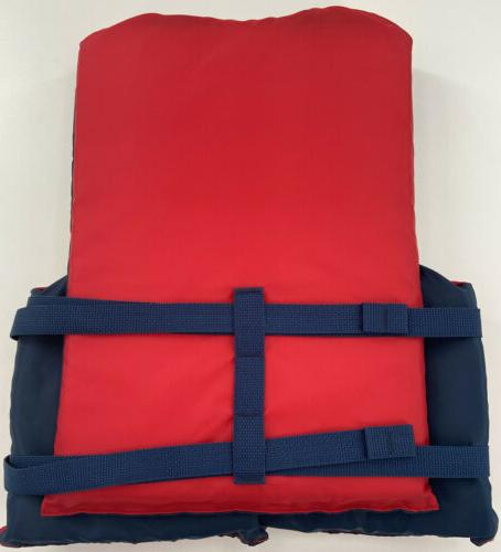 """Kent water Jacket Adult Red 30-52"""" over 90 Lbs"""