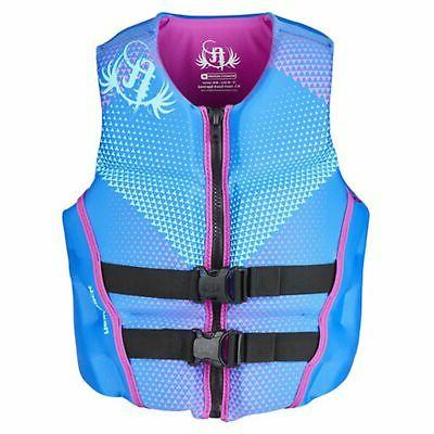 womens life jacket rapid dry flex back